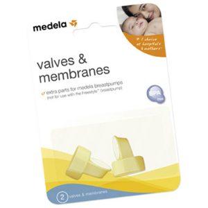 Valves membrane set
